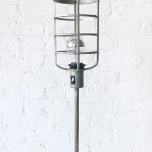 Industrial Table Cage Lamp