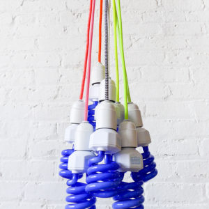 Magic Neon Night Light Pendant Lamp with Color Cord