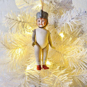 Xmas Bling – Bday Suit Drummer Boy Christmas Ornament