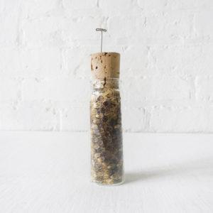 Venomous Rattlesnake Skin In Cork Glass Vial