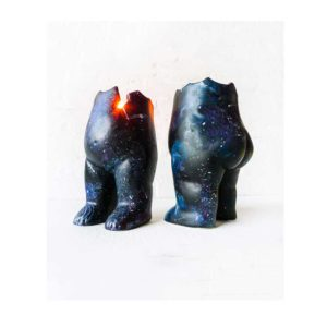 Astro Tushiez Candle Holder - Cracked Figurine