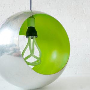 Venomous Shade Lime Retro Globe Pendant